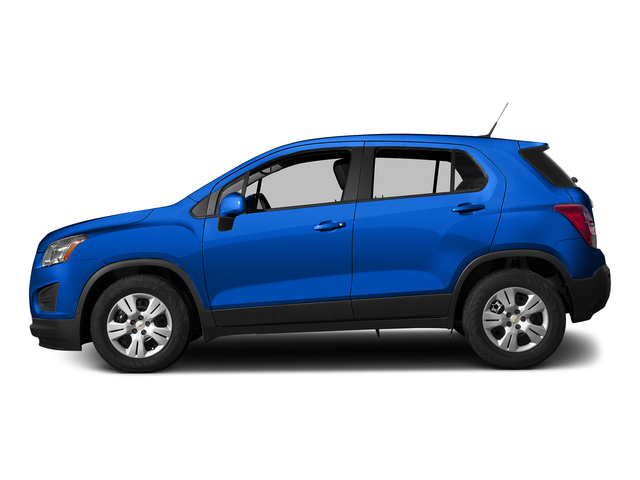 Brilliant Blue Metallic 2015 Chevrolet Trax Pictures Trax Utility 4D LS AWD I4 Turbo photos side view