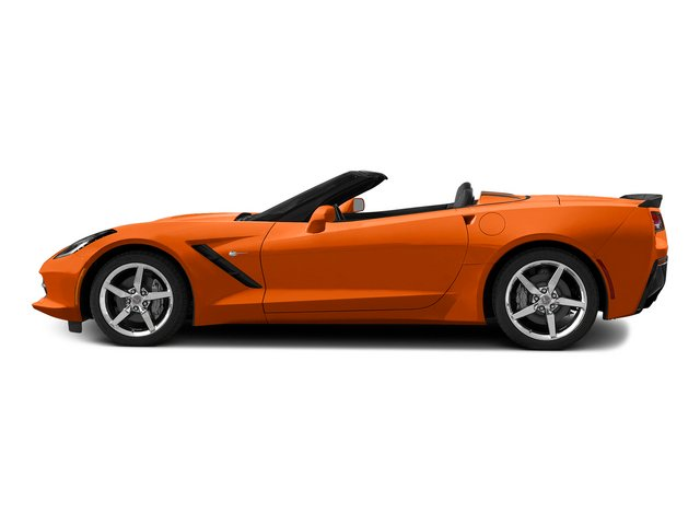 Daytona Sunrise Orange Metallic 2015 Chevrolet Corvette Pictures Corvette Convertible 2D Z51 3LT V8 photos side view