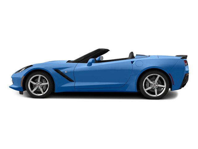 Laguna Blue Tintcoat 2015 Chevrolet Corvette Pictures Corvette Convertible 2D Z51 LT V8 photos side view