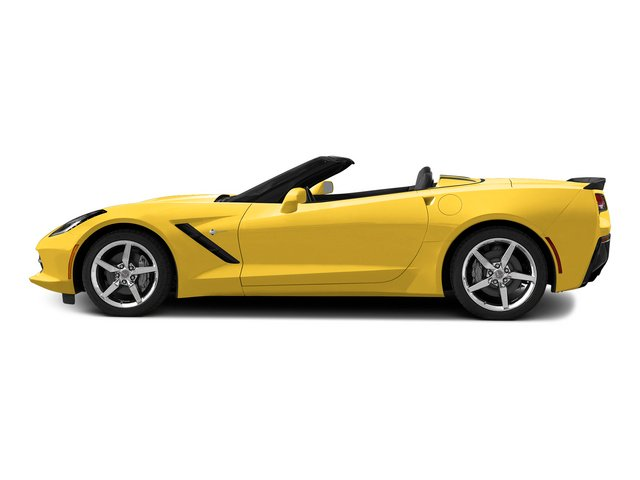 Velocity Yellow Tintcoat 2015 Chevrolet Corvette Pictures Corvette Convertible 2D Z51 LT V8 photos side view