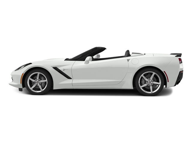 Arctic White 2015 Chevrolet Corvette Pictures Corvette Convertible 2D Z51 2LT V8 photos side view