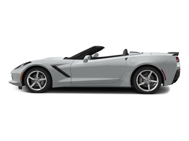Blade Silver Metallic 2015 Chevrolet Corvette Pictures Corvette Convertible 2D Z51 3LT V8 photos side view