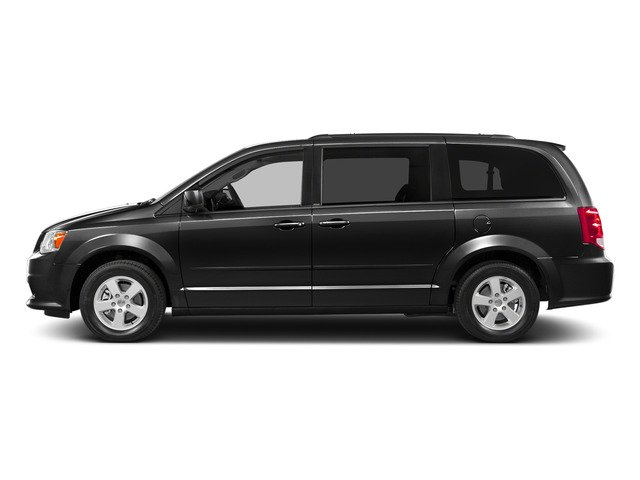 Brilliant Black Crystal Pearlcoat 2015 Dodge Grand Caravan Pictures Grand Caravan Grand Caravan SE V6 photos side view