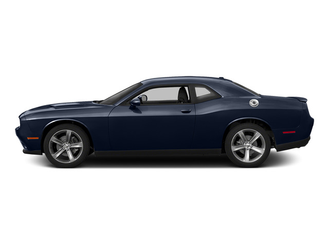 Jazz Blue Pearlcoat 2015 Dodge Challenger Pictures Challenger Coupe 2D R/T Plus V8 photos side view