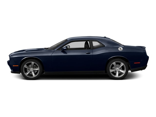 Jazz Blue Pearlcoat 2015 Dodge Challenger Pictures Challenger Coupe 2D R/T Scat Pack V8 photos side view