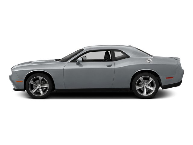 Billet Silver Metallic Clearcoat 2015 Dodge Challenger Pictures Challenger Coupe 2D R/T Scat Pack V8 photos side view