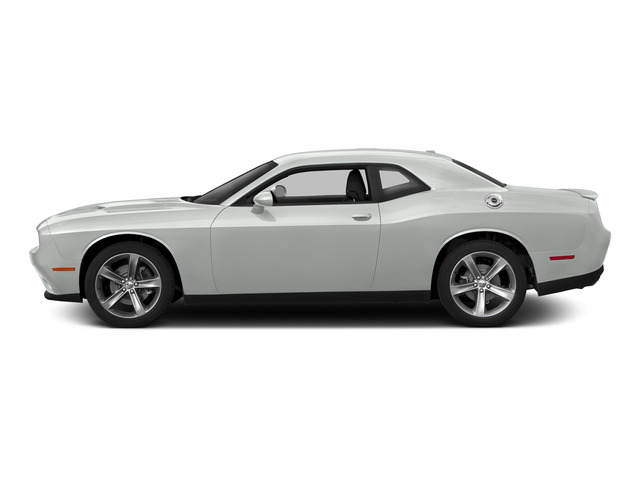 Bright White Clearcoat 2015 Dodge Challenger Pictures Challenger Coupe 2D R/T Plus V8 photos side view