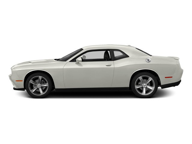 Ivory White Tri-Coat Pearl 2015 Dodge Challenger Pictures Challenger Coupe 2D R/T Plus V8 photos side view