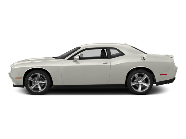 Ivory White Tri-Coat Pearl 2015 Dodge Challenger Pictures Challenger Coupe 2D R/T Scat Pack V8 photos side view