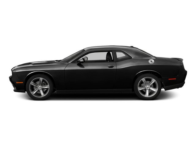 Pitch Black Clearcoat 2015 Dodge Challenger Pictures Challenger Coupe 2D R/T Plus V8 photos side view