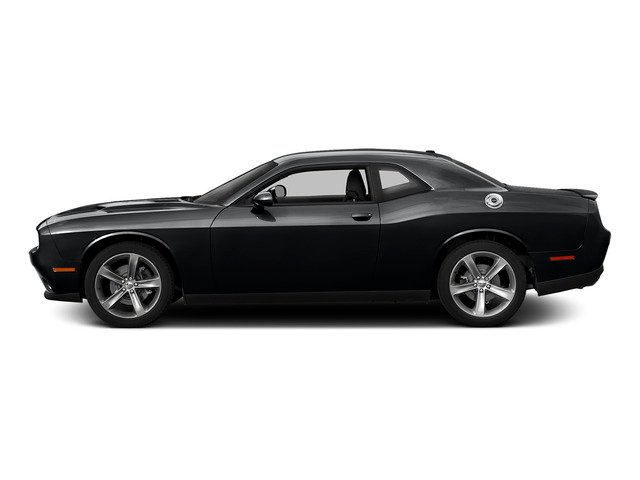 Phantom Black Tri-Coat Pearl 2015 Dodge Challenger Pictures Challenger Coupe 2D R/T Scat Pack V8 photos side view