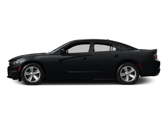 Phantom Black Tri-Coat Pearl 2015 Dodge Charger Pictures Charger Sedan 4D SRT 392 V8 photos side view