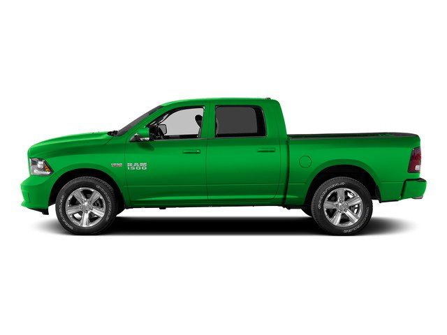 Hills Green 2015 Ram Truck 1500 Pictures 1500 Crew Cab SLT 4WD photos side view