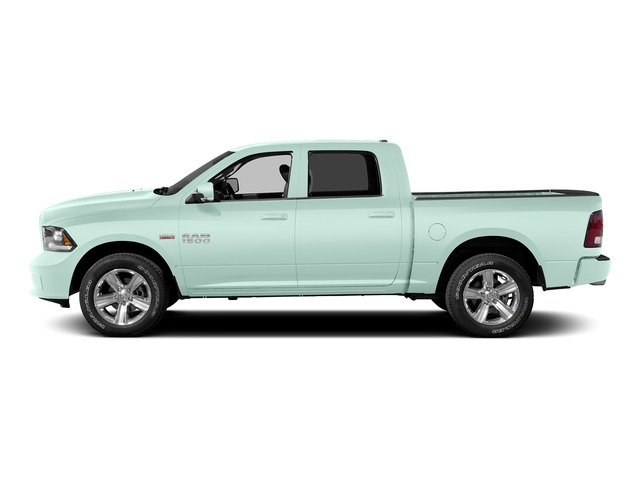 Robin Egg Blue 2015 Ram Truck 1500 Pictures 1500 Crew Cab SSV 4WD photos side view