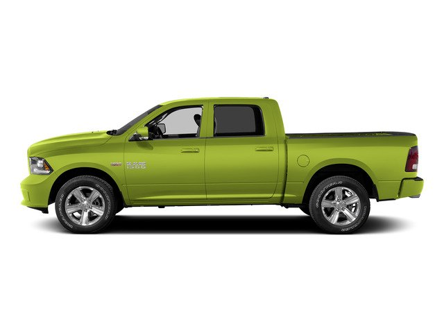 National Safety Yellow 2015 Ram Truck 1500 Pictures 1500 Crew Cab SSV 4WD photos side view