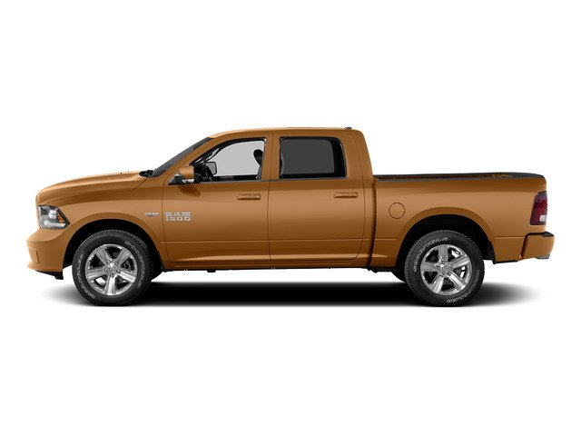 Power Tan 2015 Ram Truck 1500 Pictures 1500 Crew Cab Express 4WD photos side view