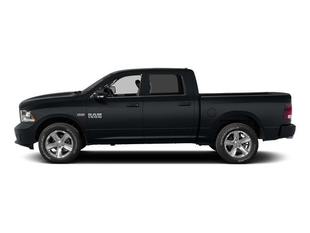 Maximum Steel Metallic Clearcoat 2015 Ram Truck 1500 Pictures 1500 Crew Cab SLT 4WD photos side view