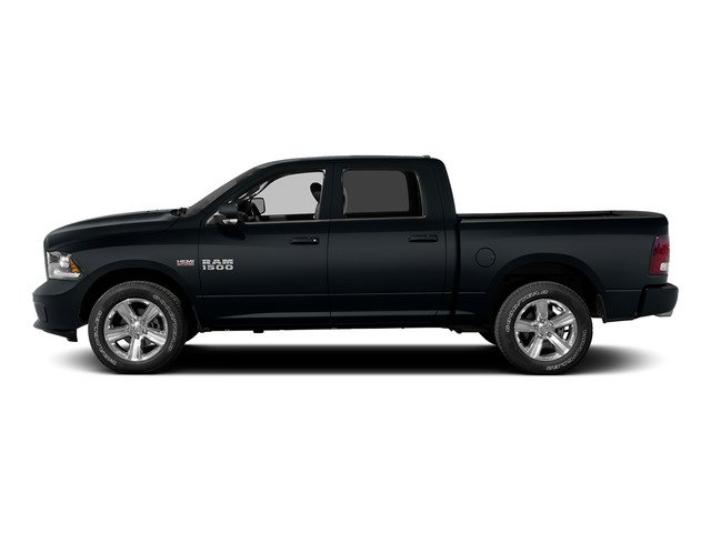 Maximum Steel Metallic Clearcoat 2015 Ram Truck 1500 Pictures 1500 Crew Cab Longhorn 4WD photos side view