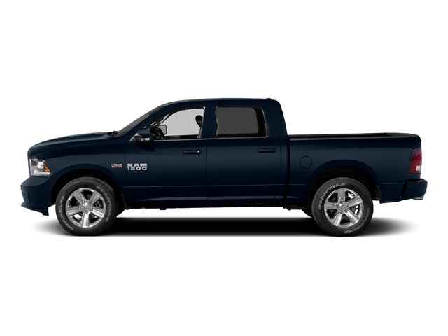 True Blue Pearlcoat 2015 Ram Truck 1500 Pictures 1500 Crew Cab Laramie 2WD photos side view