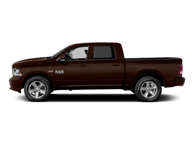 Western Brown 2015 Ram Truck 1500 Pictures 1500 Crew Cab Laramie 4WD photos side view