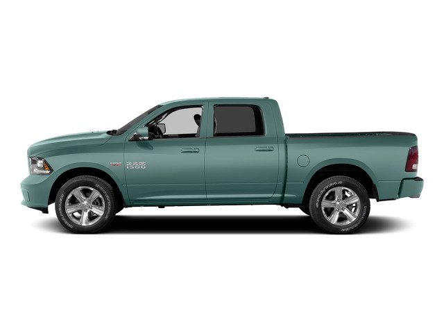 Light Green 2015 Ram Truck 1500 Pictures 1500 Crew Cab SSV 4WD photos side view