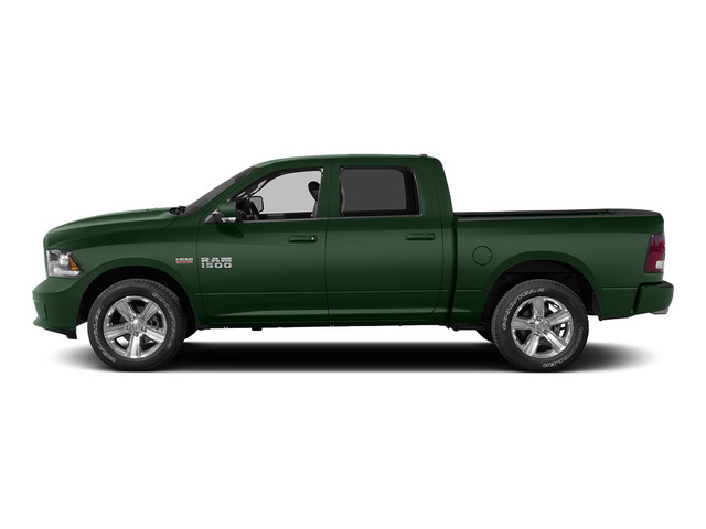 Timberline Green Pearlcoat 2015 Ram Truck 1500 Pictures 1500 Crew Cab Express 4WD photos side view