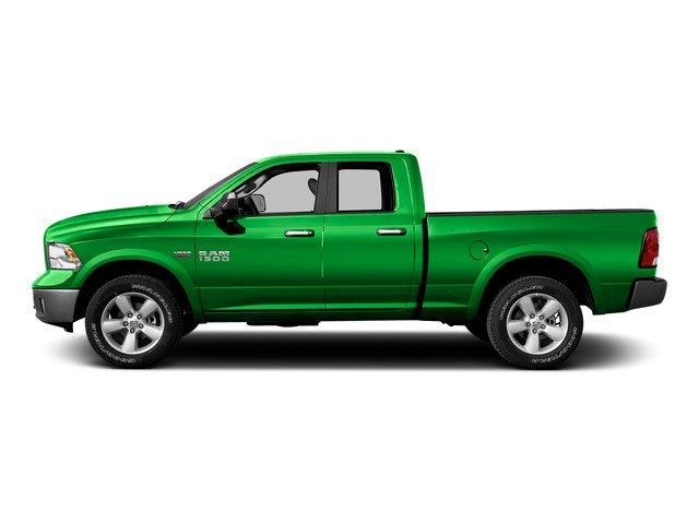Hills Green 2015 Ram Truck 1500 Pictures 1500 Quad Cab SLT 2WD photos side view