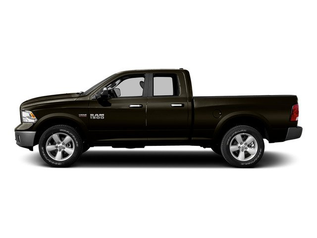 Dark Brown 2015 Ram Truck 1500 Pictures 1500 Quad Cab SLT 2WD photos side view