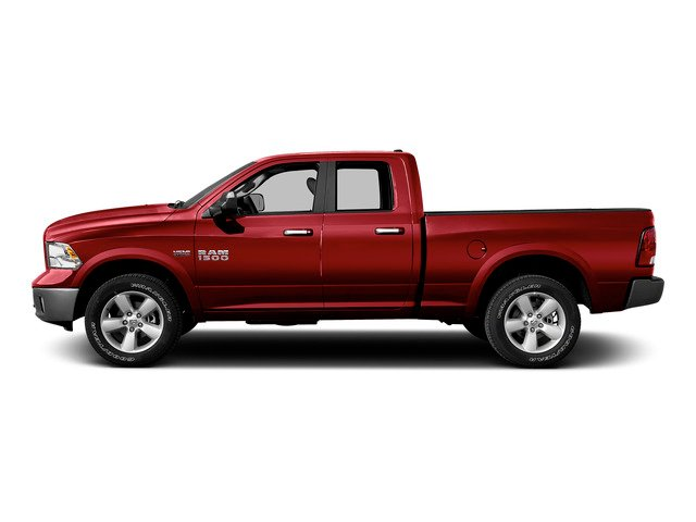 Agriculture Red 2015 Ram Truck 1500 Pictures 1500 Quad Cab Express 4WD photos side view
