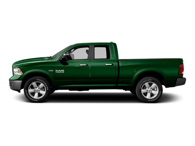 Tree Green 2015 Ram Truck 1500 Pictures 1500 Quad Cab Express 2WD photos side view