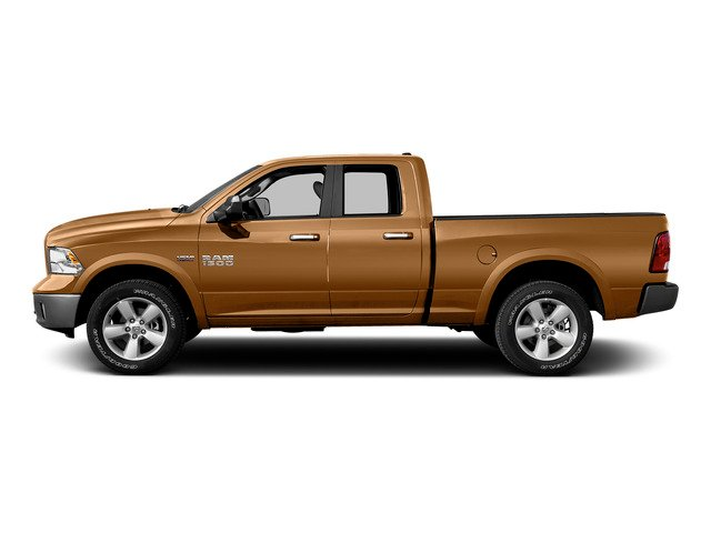 Power Tan 2015 Ram Truck 1500 Pictures 1500 Quad Cab SLT 2WD photos side view