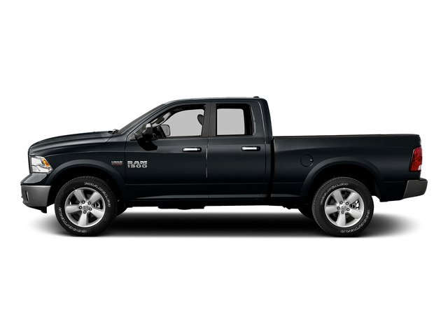 Maximum Steel Metallic Clearcoat 2015 Ram Truck 1500 Pictures 1500 Quad Cab Express 4WD photos side view