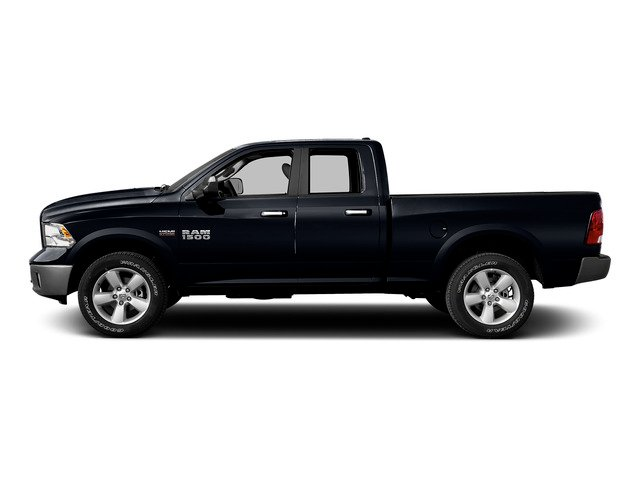 Midnight Blue Pearlcoat 2015 Ram Truck 1500 Pictures 1500 Quad Cab Express 4WD photos side view