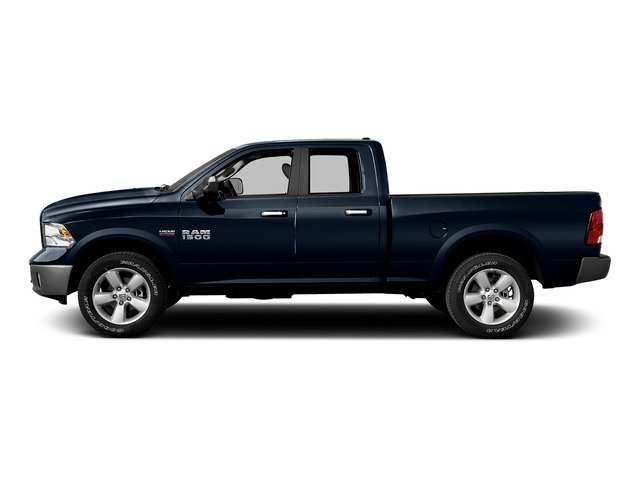 True Blue Pearlcoat 2015 Ram Truck 1500 Pictures 1500 Quad Cab SLT 4WD photos side view