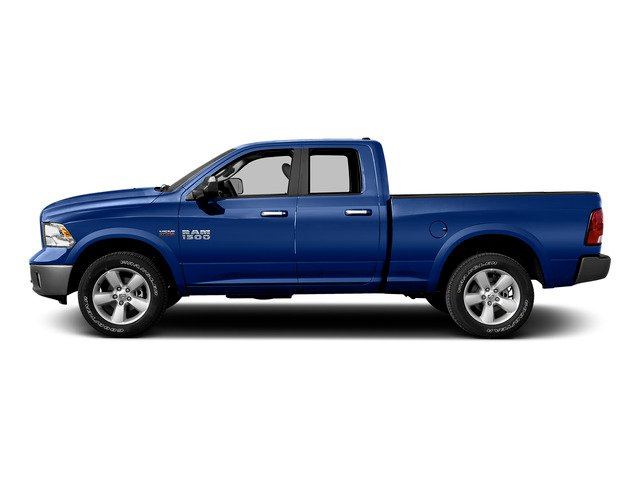 Blue Streak Pearlcoat 2015 Ram Truck 1500 Pictures 1500 Quad Cab SLT 2WD photos side view