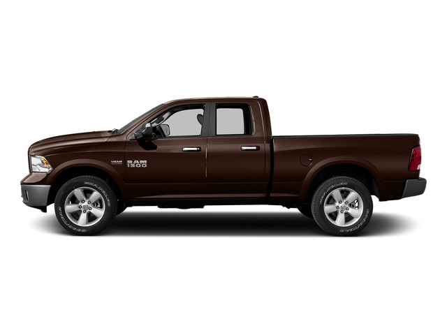 Western Brown 2015 Ram Truck 1500 Pictures 1500 Quad Cab Express 2WD photos side view