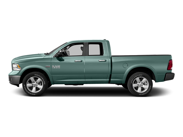 Light Green 2015 Ram Truck 1500 Pictures 1500 Quad Cab SLT 4WD photos side view