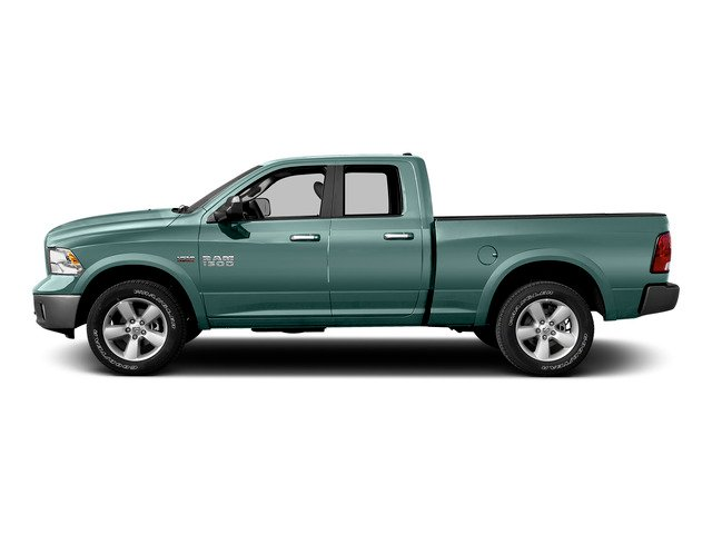 Light Green 2015 Ram Truck 1500 Pictures 1500 Quad Cab SLT 2WD photos side view
