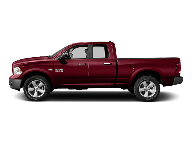 Deep Cherry Red Crystal Pearlcoat 2015 Ram Truck 1500 Pictures 1500 Quad Cab Express 2WD photos side view