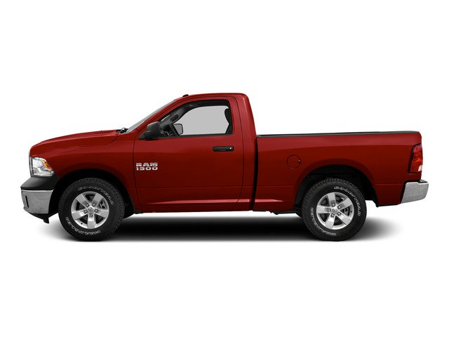 Bright Red 2015 Ram Truck 1500 Pictures 1500 Regular Cab SLT 4WD photos side view