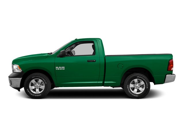 Bright Green 2015 Ram Truck 1500 Pictures 1500 Regular Cab SLT 4WD photos side view