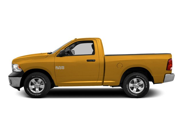 Construction Yellow 2015 Ram Truck 1500 Pictures 1500 Regular Cab SLT 2WD photos side view