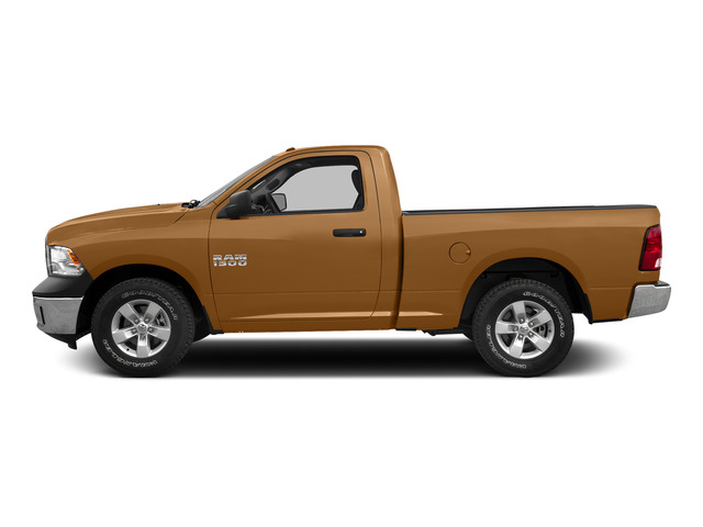 Power Tan 2015 Ram Truck 1500 Pictures 1500 Regular Cab SLT 2WD photos side view