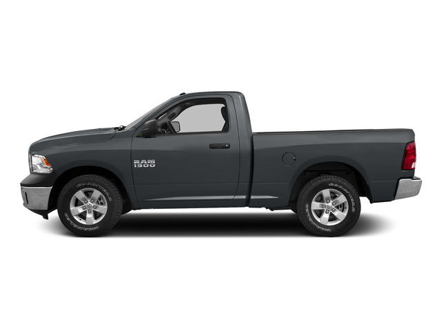 Maximum Steel Metallic Clearcoat 2015 Ram Truck 1500 Pictures 1500 Regular Cab SLT 2WD photos side view