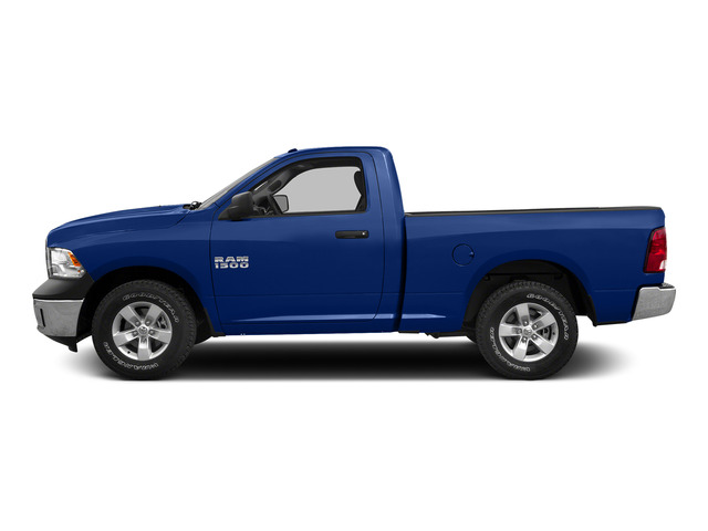Blue Streak Pearlcoat 2015 Ram Truck 1500 Pictures 1500 Regular Cab SLT 4WD photos side view
