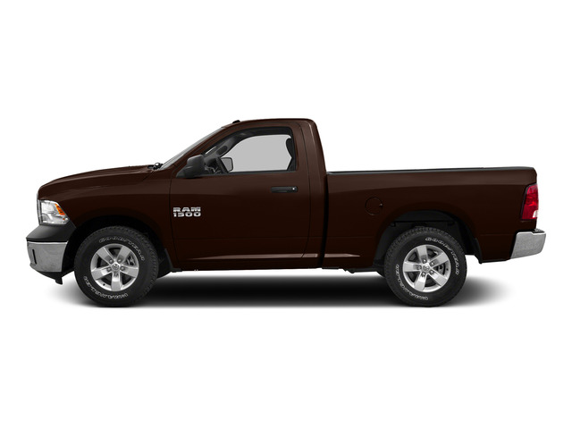 Western Brown 2015 Ram Truck 1500 Pictures 1500 Regular Cab SLT 2WD photos side view