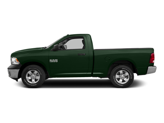 Timberline Green Pearlcoat 2015 Ram Truck 1500 Pictures 1500 Regular Cab SLT 4WD photos side view