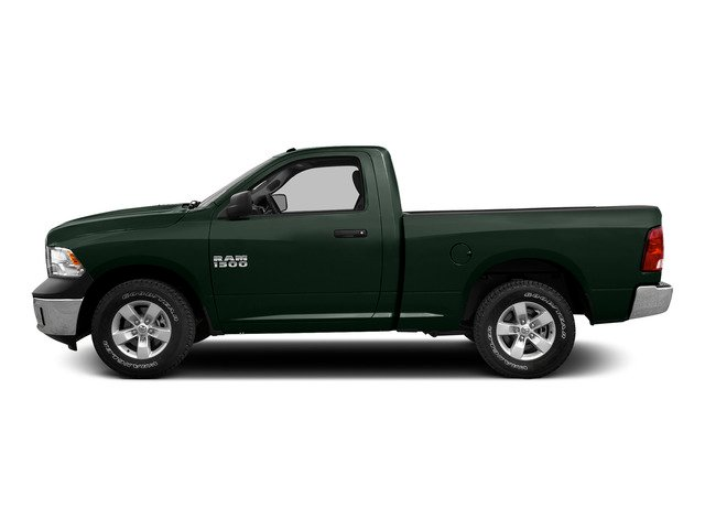 Black Forest Green Pearlcoat 2015 Ram Truck 1500 Pictures 1500 Regular Cab SLT 4WD photos side view