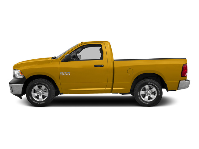 School Bus Yellow 2015 Ram Truck 1500 Pictures 1500 Regular Cab SLT 4WD photos side view