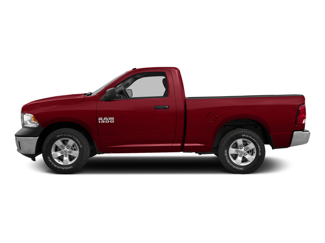 Flame Red Clearcoat 2015 Ram Truck 1500 Pictures 1500 Regular Cab SLT 4WD photos side view